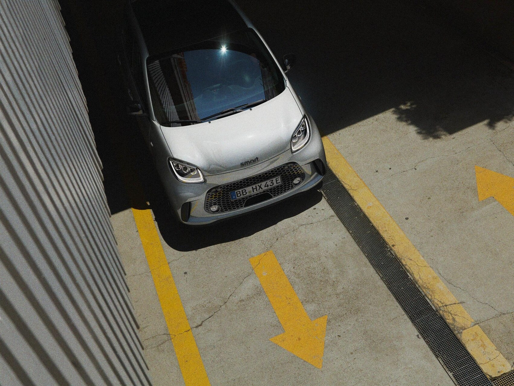 smart eq forfour Edition One on street
