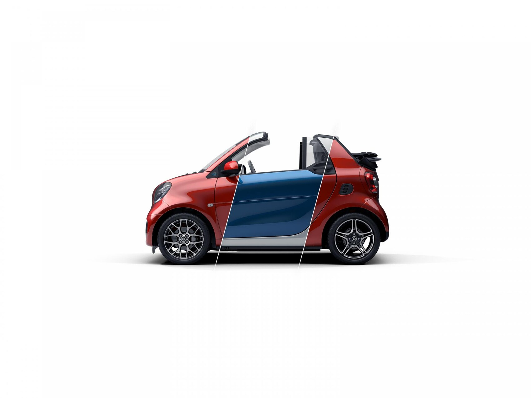 SSP FACELIFT smart eq fortwo cabrio
